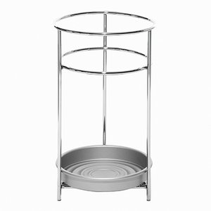 Platea Silver Umbrella Stand by Mobles114