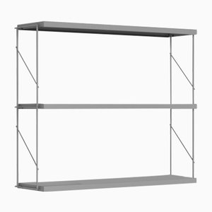 Grey Tria Pack Wall Shelf by J.M. Massana & J.M. Tremoleda for Mobles 114