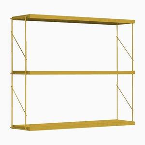 Ochre Tria Pack Wall Shelf by J.M. Massana & J.M. Tremoleda for Mobles 114