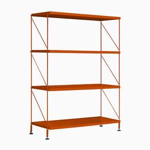 Unità di mensole Tria arancione di Mobles114