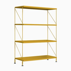 Tria Ochre Shelving Unit by Mobles114
