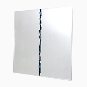 Italian Wall Mirror by Gallotti & Radice, 1980s