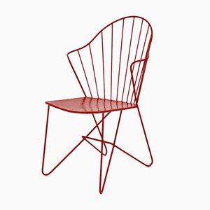 Red Astoria Stuhl von V. Moedlhammer für Sonett Vienna, 1950er