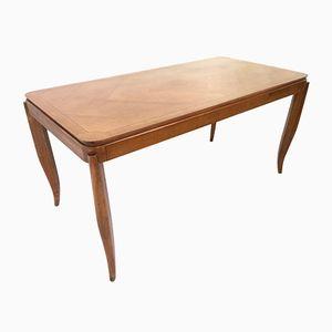 Esstisch aus Kirschholz, 1950er