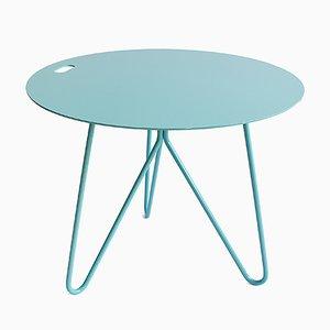 Table Basse Seis Bleue par Mendes Macedo pour Galula