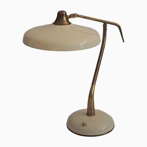 Lámpara de mesa vintage de Oscar Torlasco para Lumi