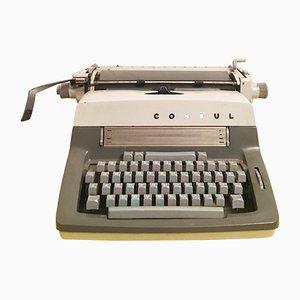 Vintage Czech Consul Typewriter, 1960s