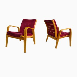 FB06 Easy Chairs by Cees Braakman for Pastoe, 1950s, Set of 2
