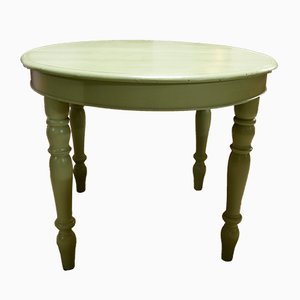 Antique Italian Green Extendable Table