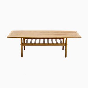 Mid-Century Surfboard Coffee Table by Grete Jalk for Glostrup, 1960s
