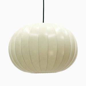 Grande Lampe à Suspension Cocon Vintage, 1960s
