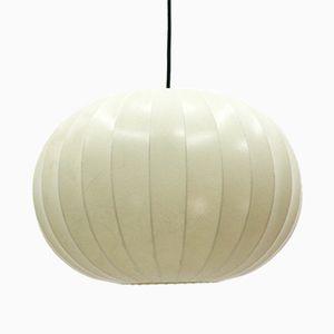 Large Vintage Cocoon Pendant Lamp, 1960s