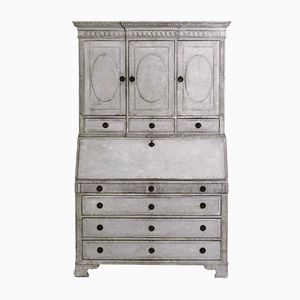 Antique Gustavian 2-Part Bureau