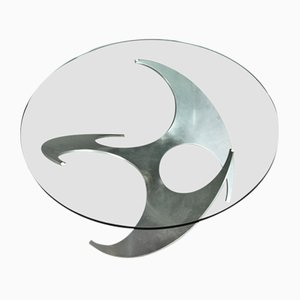 K9 Propeller Coffee Table by Knut Hesterberg for Ronald Schmitt