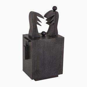 Sculpture de Cobra Oizal par Serge Vandercam, 1974