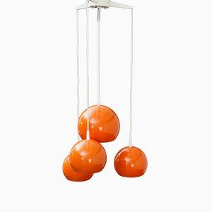 Lampe Cascade Orange, 1960s