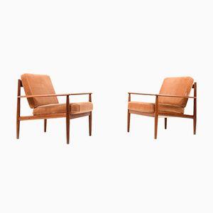 Modell 118 Sessel von Grete Jalk für France & Søn, 1960er, 2er Set