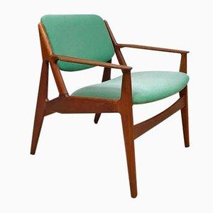 Dänischer Vintage Ellen Armlehnstuhl von Arne Vodder für Vamo