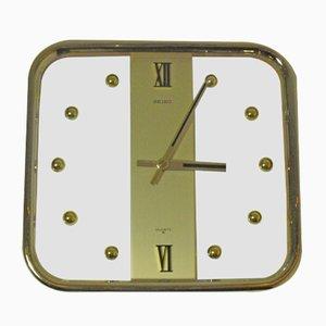 Viereckige Vintage Uhr von Seiko, 1970er