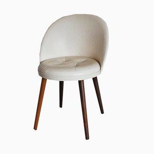 Chaise de Coiffeuse Mid-Century Scandinave, 1950s