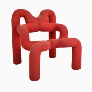 Norwegian Extreme Chair by Terje Ekstrøm, 1970s