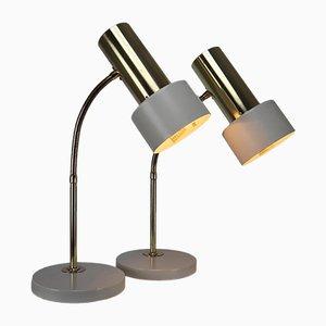Paar deutsche Tischlampen, 1970er