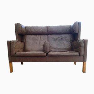 Vintage Modell 2192 2-Sitzer Sofa von Borge Mogensen, 1970er