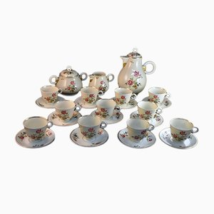 Coffee Set by Albert Vignaud for Limoges, 1940s