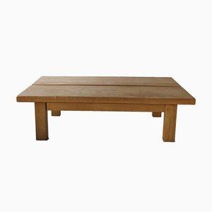 Vintage Tisch aus Ulmenholz von Maison Regain, 1960er
