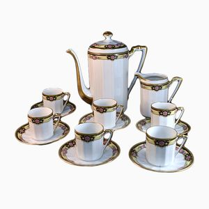 Coffee Set from Limoges, 1925
