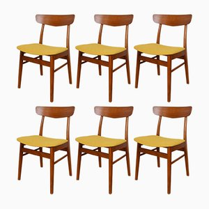 Mid-Century Danish Dining Chairs from Farstrup Møbelfabrik, 1960s, Set of 6