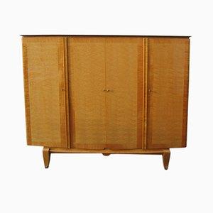 Mueble vintage de sicómoro, años 50