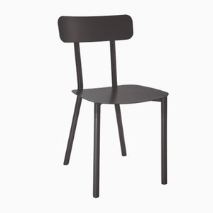 Black Picto Chair by Elia Mangia for STIP