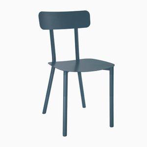 Chaise Picto Bleue par Elia Mangia pour STIP