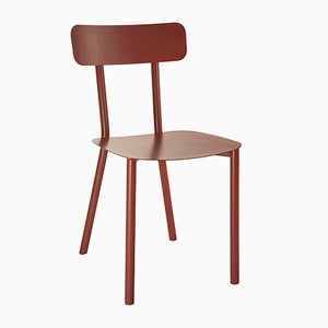 Coral Red PICTO Chair by Elia Mangia for STIP, 2018