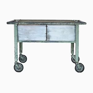 Industrial Workshop Desk Trolley, 1960s