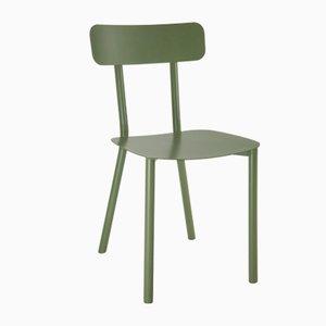 Chaise Picto Verte par Elia Mangia pour STIP