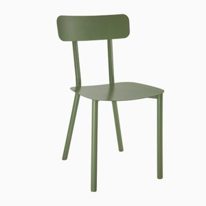 Green Picto Chair by Elia Mangia for STIP