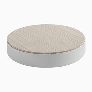 Weißes RINGO S Tablett von Elia Mangia für STIP, 2018