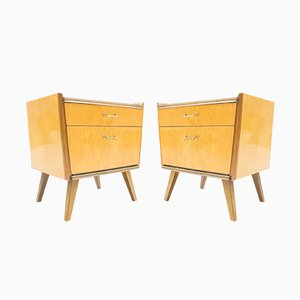 Tables de Chevet Mid-Century, 1950s, Set de 2