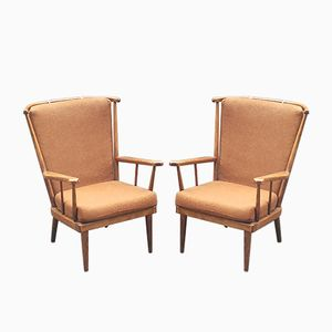 Vintage Belvoir Easy Chairs from Baumann, Set of 3