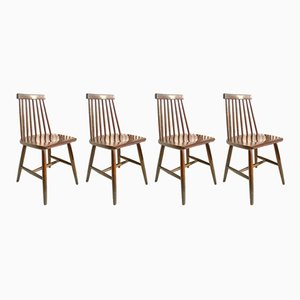 Dining Chairs by Ilmari Tapiovaara for Edsby Verken, 1960s, Set of 4