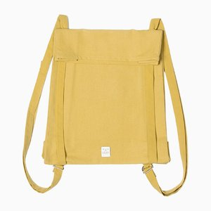 Ockerfarbene Toteback Tasche von Winter in Holland, 2018