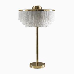 Lámpara de mesa T138 con flecos de Hans-Agne Jakobsson, años 60