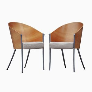 Vintage King Costes Chairs by Phillipe Starck for Driade, 1990s, Set of 4