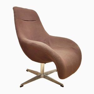 Mid-Century Nordic Swivel Lounge Chair, 1960s