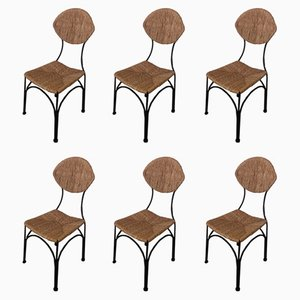Dining Chairs by Tom Dixon, 1980s, Set of 6