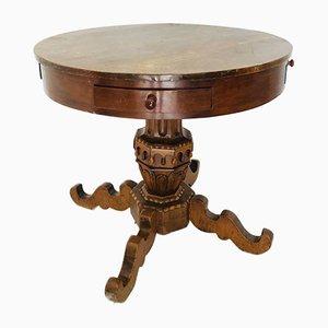 Tavolino antico rotondo, Italia