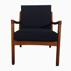 Mid-Century Danish Senator Teak Easy Chair by Ole Wanscher for France & Søn, 1960s