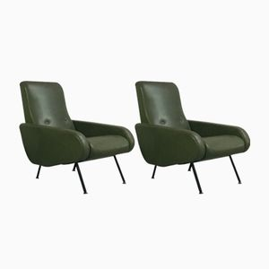 Lounge Chairs from Airborne, 1950s, Set of 2
